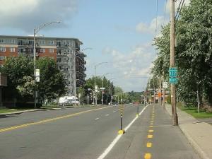 Drummondville, chef lieu de la région des Bois-Francs. Photo par Vintotal