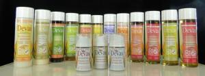Les produits pour le corps Devas